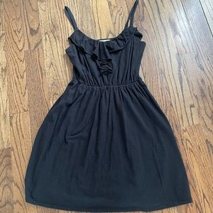 Beautiful jersey Loft Dress with Ruffle